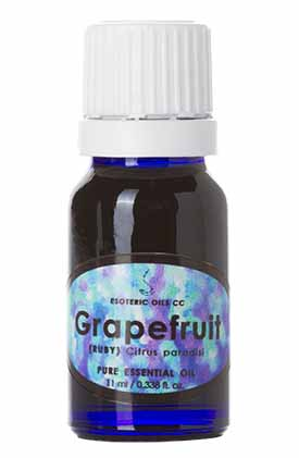 red ruby grapefruit oil