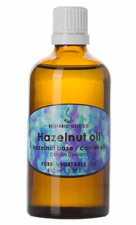hazelnut oil carrier oil