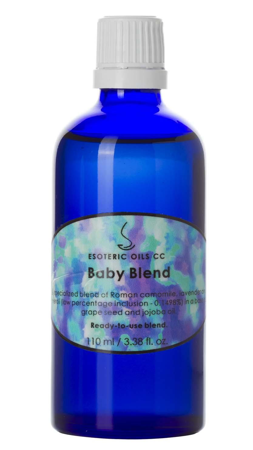 baby massage blend essential oil