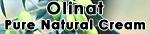 Crème hydratante visage pure naturelle Olinat